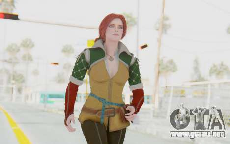 The Witcher 3 - Triss Merigold Default para GTA San Andreas