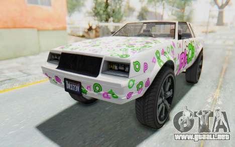 GTA 5 Willard Faction Custom Donk v2 IVF para GTA San Andreas