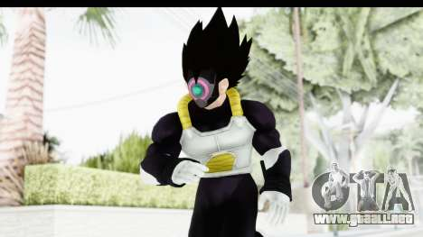 Dragon Ball Xenoverse Vegeta Timebreaker Fix para GTA San Andreas