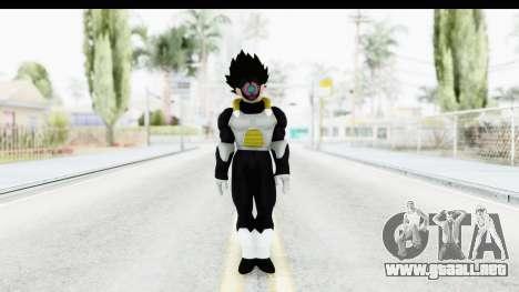 Dragon Ball Xenoverse Vegeta Timebreaker para GTA San Andreas segunda pantalla