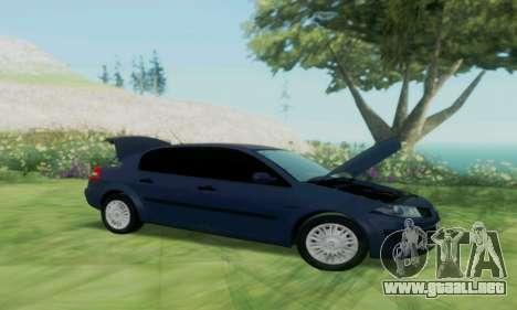 Renault Megane 2004 para la visión correcta GTA San Andreas