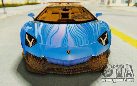 Lamborghini Aventador LP700-4 LB Walk Fenders para vista lateral GTA San Andreas
