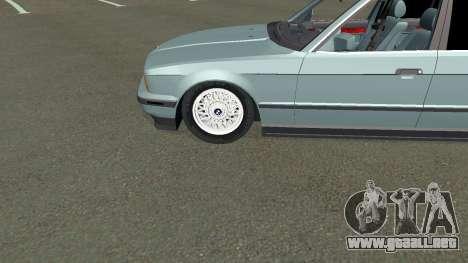 BMW 535i Gang para visión interna GTA San Andreas