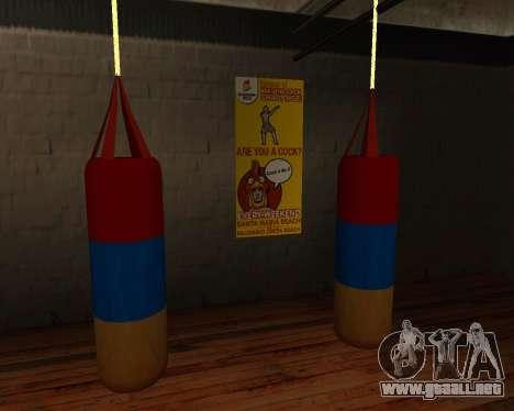 Pera de Boxeo de estilo de la bandera de armenia para GTA San Andreas