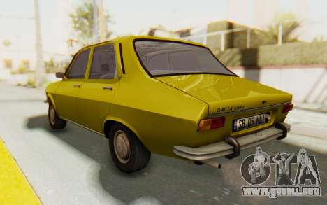 Dacia 1300 Stock para GTA San Andreas left