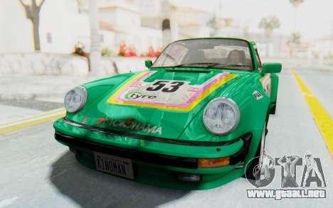 Porsche 911 Turbo 3.2 Coupe (930) 1985 para visión interna GTA San Andreas