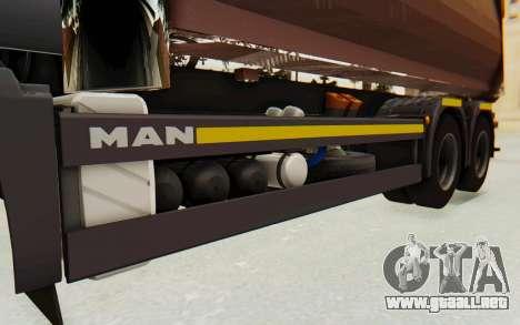 MAN TGA Energrom Edition v2 para visión interna GTA San Andreas