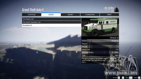 GTA 5 Heist Project 0.4.32.678 octavo captura de pantalla