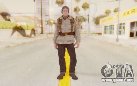 COD BO Russian Soldier v1 para GTA San Andreas segunda pantalla