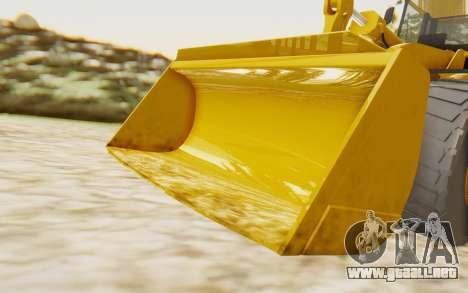Caterpillar 966 GII para GTA San Andreas vista hacia atrás