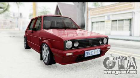 Volkswagen Golf VeloCiti 2008 Updated para GTA San Andreas