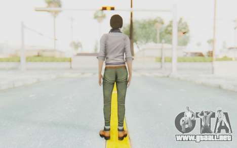 Far Cry 3 - Liza Snow para GTA San Andreas tercera pantalla