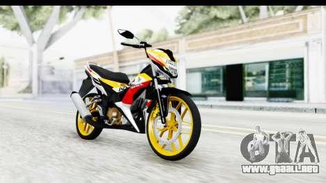 Honda 150R Sonic X IDFR para GTA San Andreas