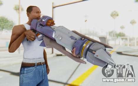 Pharah Mechaqueen Rocket para GTA San Andreas tercera pantalla