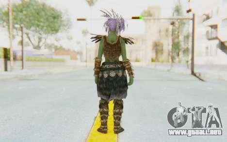 Skyrim - Khorah Orc v1 para GTA San Andreas tercera pantalla