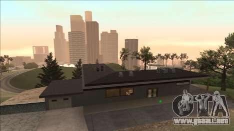 Beta Mulholland Safehouse para GTA San Andreas segunda pantalla