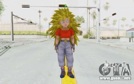 Dragon Ball Xenoverse Pan SSJ3 para GTA San Andreas segunda pantalla