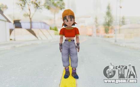 Dragon Ball Xenoverse Pan SJ para GTA San Andreas segunda pantalla