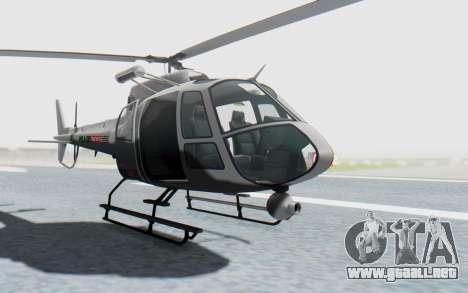 GTA 5 News Chopper Style Weazel News para la visión correcta GTA San Andreas