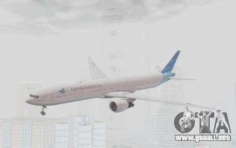 Boeing 777-300ER Garuda Indonesia para GTA San Andreas
