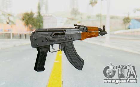 AK-47U v1 para GTA San Andreas tercera pantalla