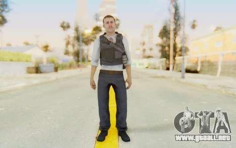 CoD MW2 Secret Service para GTA San Andreas segunda pantalla