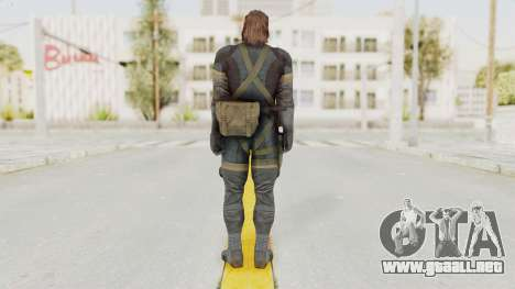 MGSV Phantom Pain Big Boss SV Sneaking Suit v2 para GTA San Andreas tercera pantalla