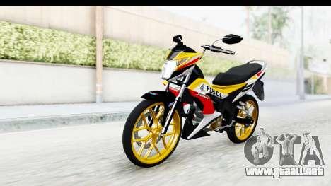 Honda 150R Sonic X IDFR para la visión correcta GTA San Andreas