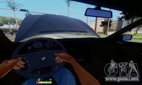 BMW 750 para vista inferior GTA San Andreas