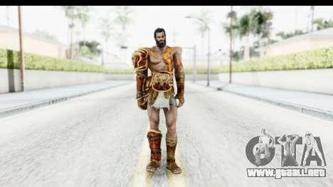 God of War 3 - Deimos para GTA San Andreas segunda pantalla