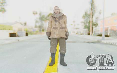 COD BO Lev Kravchenko Winter para GTA San Andreas segunda pantalla