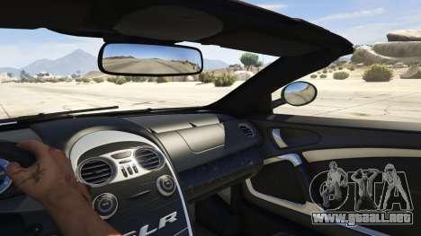 Mercedes-Benz SLR 722s Roadster & Mansory para GTA 5