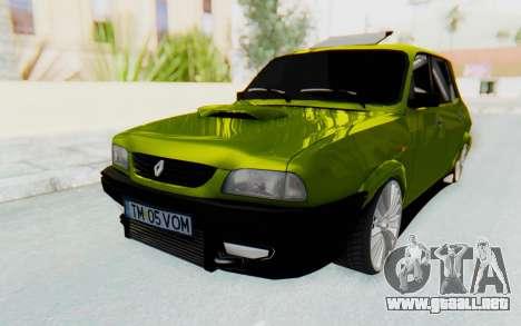 Dacia 1300 4x4 para GTA San Andreas vista posterior izquierda