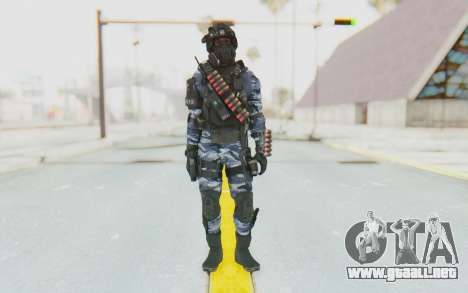 Federation Elite Shotgun Urban-Navy para GTA San Andreas segunda pantalla