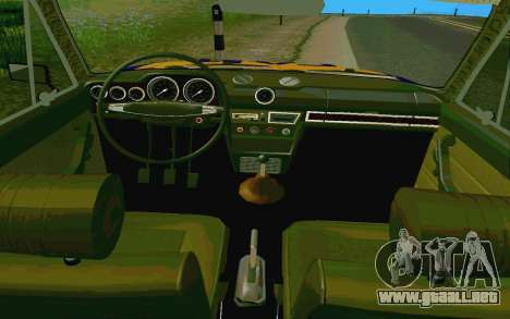 HUNTER-2106 GAI v2.0 para vista lateral GTA San Andreas
