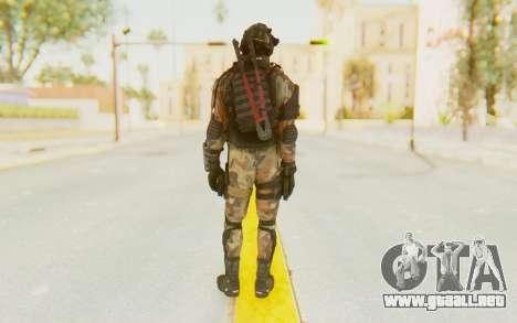 Federation Elite SMG Woodland-Flora para GTA San Andreas tercera pantalla