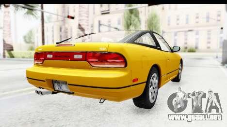 Nissan 240SX 1994 v1 para GTA San Andreas vista posterior izquierda