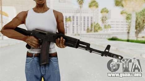 AK-74M v1 para GTA San Andreas tercera pantalla