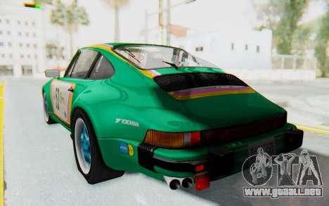 Porsche 911 Turbo 3.2 Coupe (930) 1985 para vista lateral GTA San Andreas