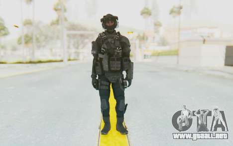 Federation Elite LMG Tactical para GTA San Andreas segunda pantalla