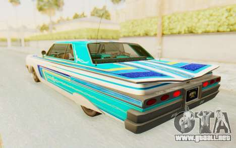 GTA 5 Declasse Voodoo para la vista superior GTA San Andreas