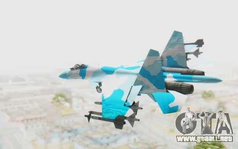 SU-37 American Ornament para GTA San Andreas left
