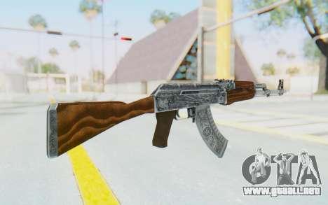 CS:GO - AK-47 Cartel para GTA San Andreas segunda pantalla