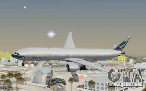 Boeing 777-300ER Cathay Pacific Airways v1 para GTA San Andreas