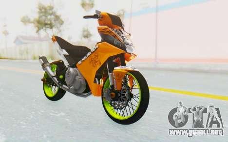 Yamaha Jupiter MX 135 Roadrace para la visión correcta GTA San Andreas