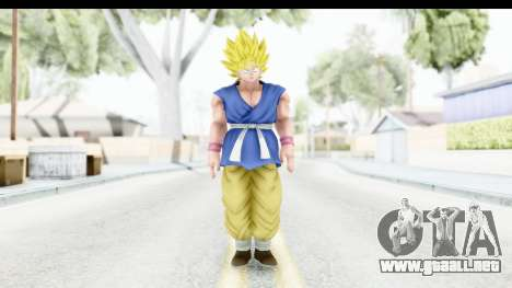 Dragon Ball Xenoverse Goku GT Adult SSJ1 para GTA San Andreas segunda pantalla