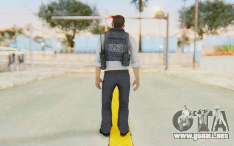 CoD MW2 Secret Service para GTA San Andreas tercera pantalla