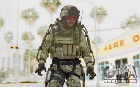 CoD AW US Marine Assault v3 Head C para GTA San Andreas