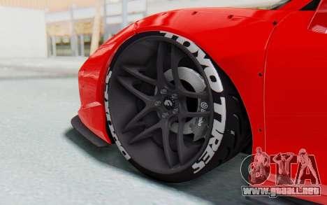 Ferrari 458 Liberty Walk para vista inferior GTA San Andreas