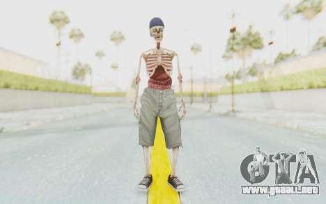 Skeleton Sk8ter para GTA San Andreas segunda pantalla